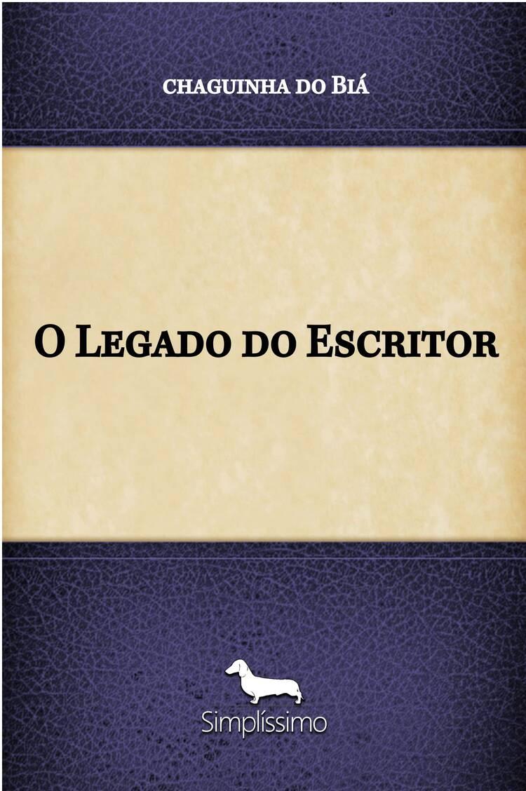 Capa do ebook O Legado do Escritor