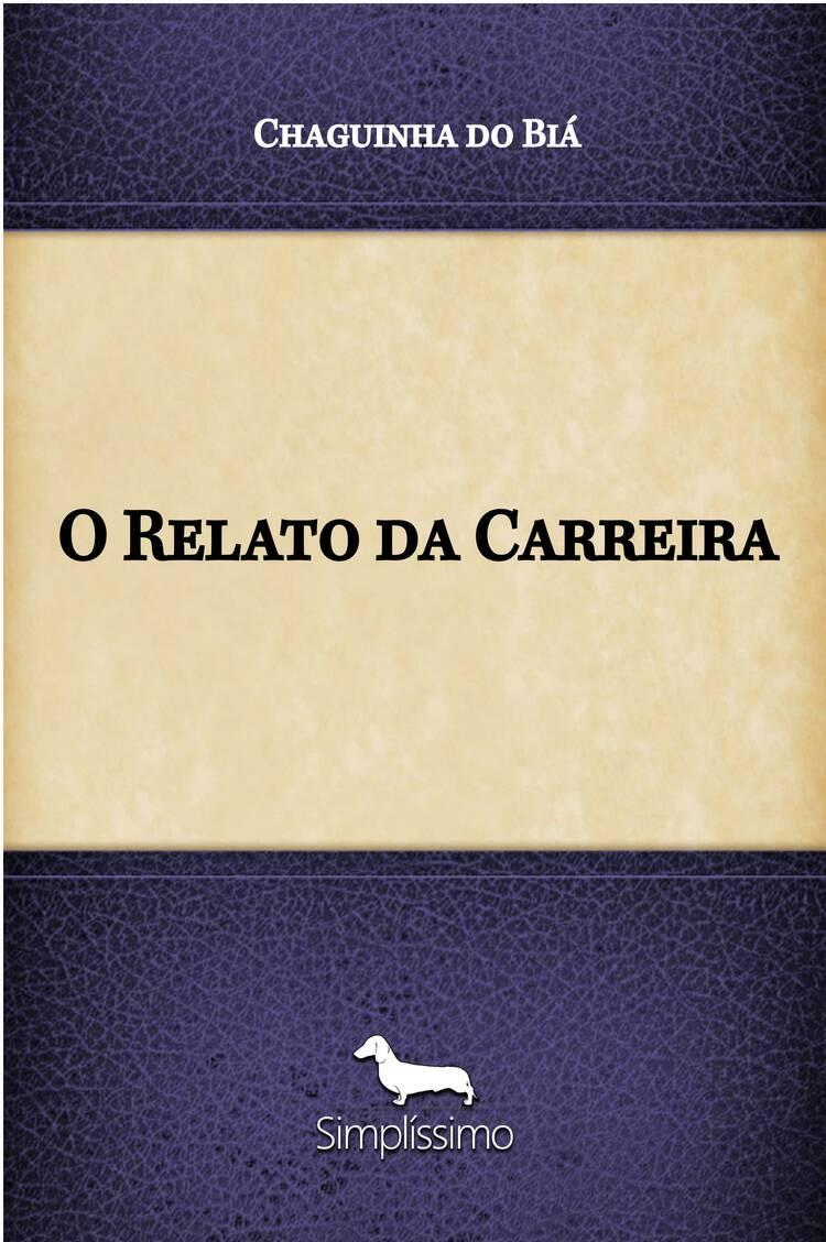 Capa do ebook O Relato da Carreira