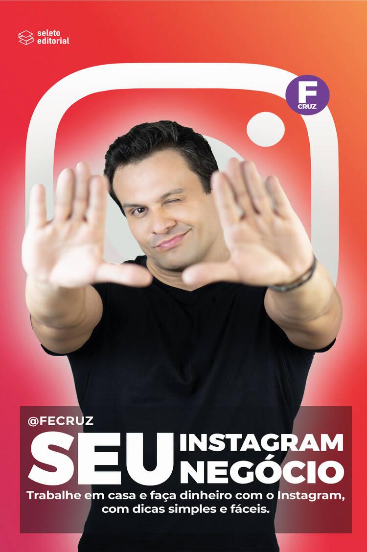 Capa do ebook Seu Instagram, Seu negócio