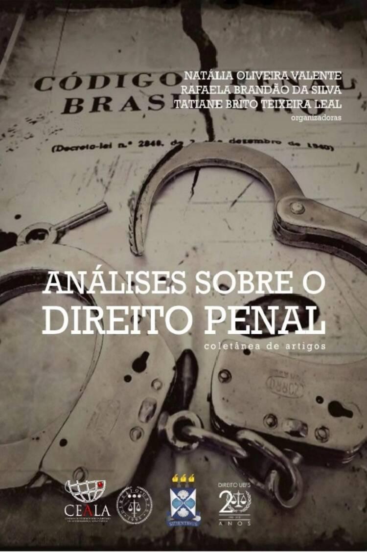 Capa do ebook Análises Sobre Direito Penal: